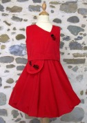 robe bulle rouge